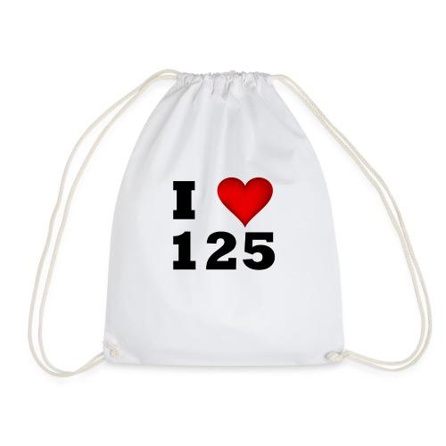 I Love 125 - Turnbeutel
