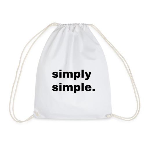 simply simple. Geschenk Idee Simple - Turnbeutel