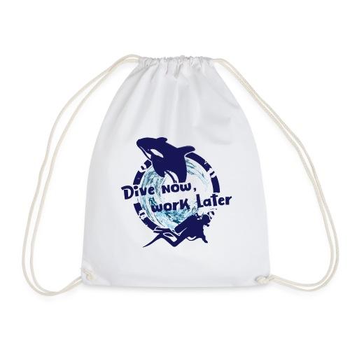 Dive Now - Turnbeutel