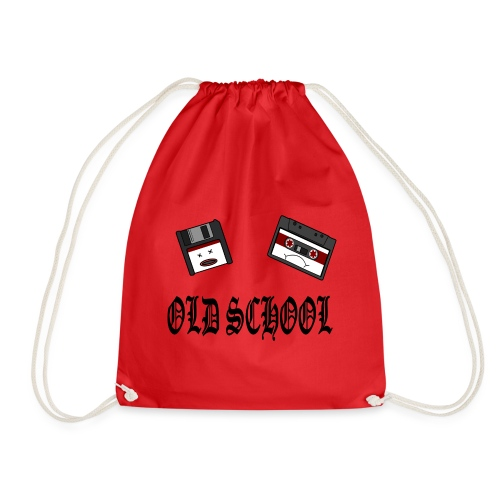 Old School Design - Turnbeutel