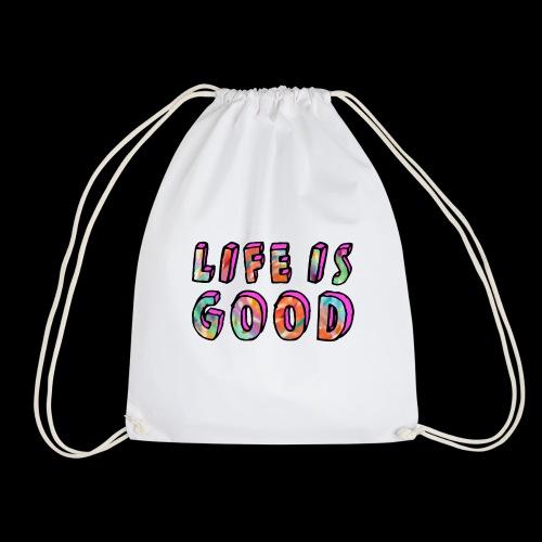LifeIsGood - Drawstring Bag