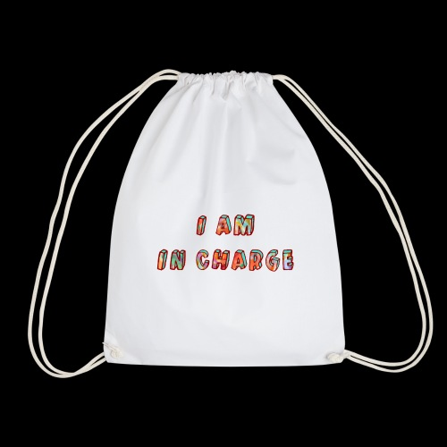 I am in Charge - Drawstring Bag