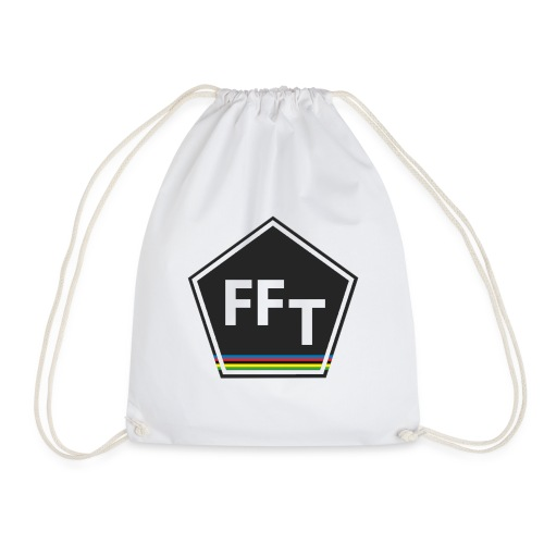 FFT logo colour (Fastfitnesstips) - Drawstring Bag