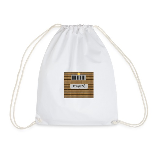 Locked box - Drawstring Bag