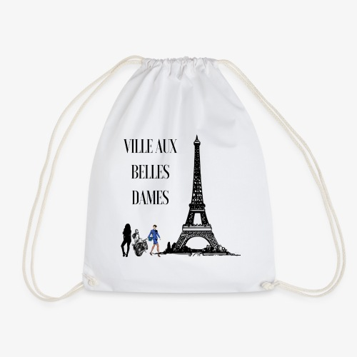 Paris Ville aux belles dames - Sac de sport léger