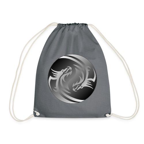 Yin Yang Dragon - Drawstring Bag