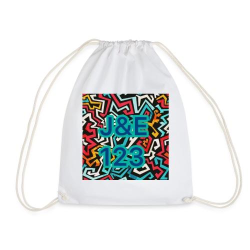 Jacob and Elli logo - Drawstring Bag