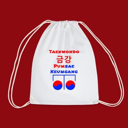 Keumgang - Pumsae Taekwondo - Poomse Kumgang Korea - Turnbeutel