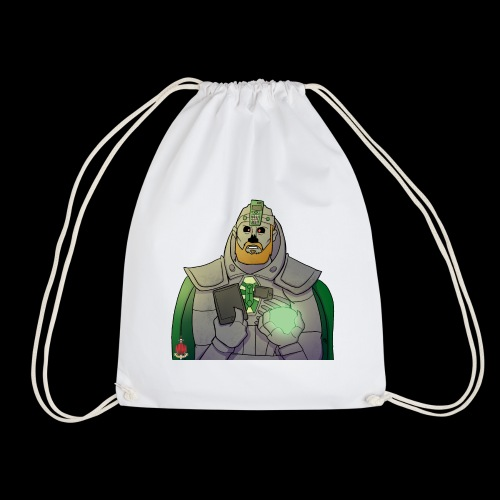 Elliot the Necron! - Drawstring Bag