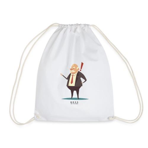 Boss, I'm the Boss - Drawstring Bag