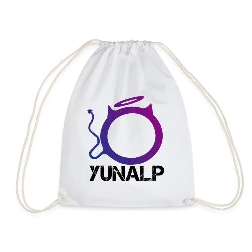 Logo mit Namen - Turnbeutel