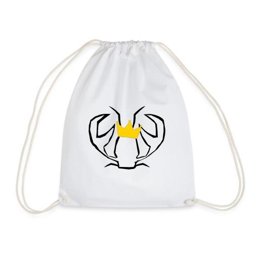 KingSebastian White - Drawstring Bag