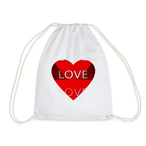 Love Pliz Corazón TM - Mochila saco