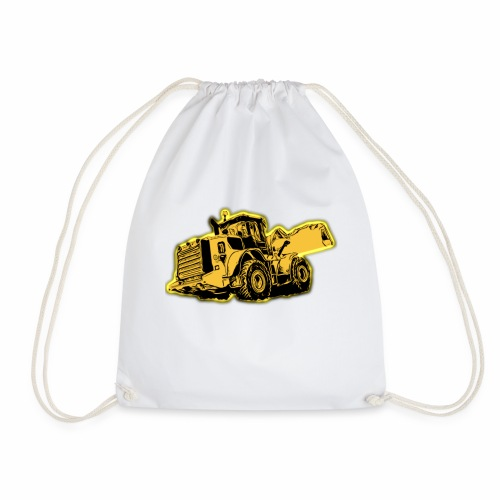 Wheel Loader - Drawstring Bag