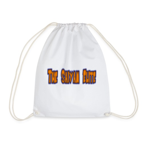 the saiyan elite design 1 - Drawstring Bag