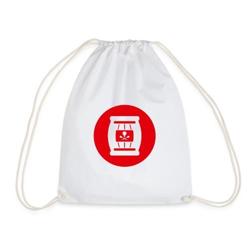 Team Tönnchen Logo rot ohne Typo - Turnbeutel