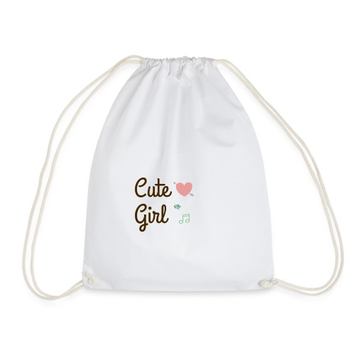 Cute girl - Sac de sport léger