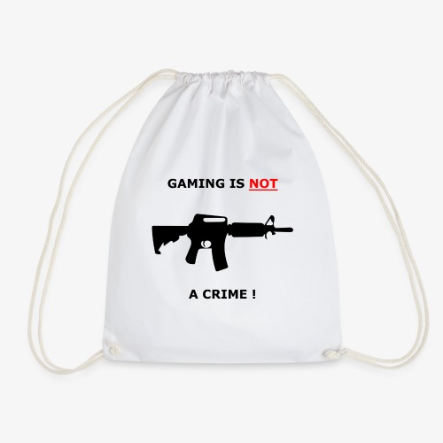 GAMING IS NOT A CRIME ! - Turnbeutel