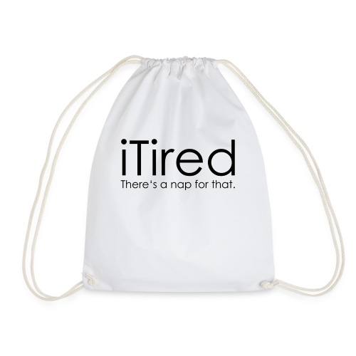 iTired - Drawstring Bag