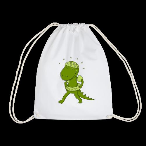 Lustiges Krokodil - Turnbeutel