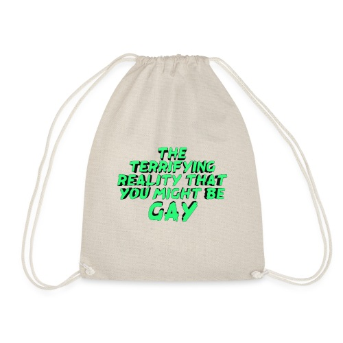 Scariest Things: The Gay Realisation - Drawstring Bag
