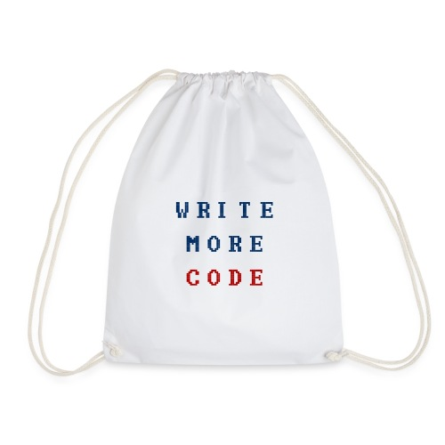 Write More Code - Drawstring Bag