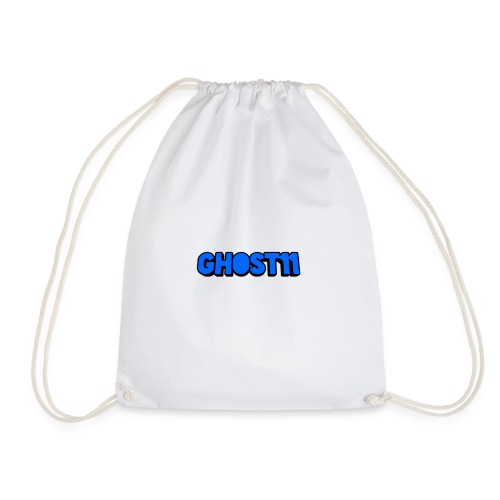 Ghost11 channel name - Drawstring Bag