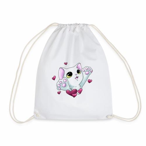 Smudge Hug (Pink Hearts) - Drawstring Bag