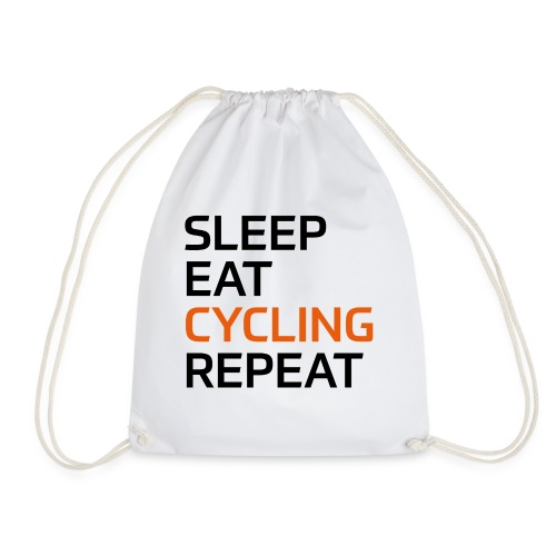 Eat Sleep Cycling Repeat - Turnbeutel