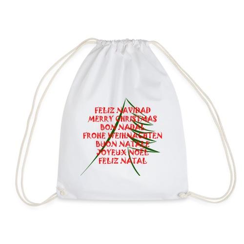Feliz Navidad - Mochila saco