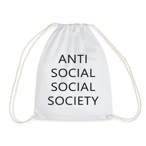 Anti Social Social Society - Geschenkidee - Turnbeutel