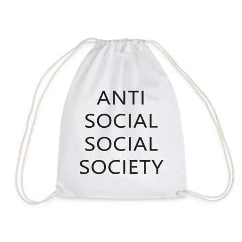 Anti Social Social Society - Gift idea - Drawstring Bag