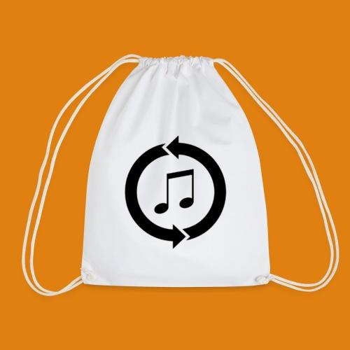 music, renew music, music, t-shirt music - Drawstring Bag