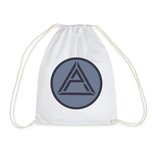 AP Logo Graublau - Turnbeutel