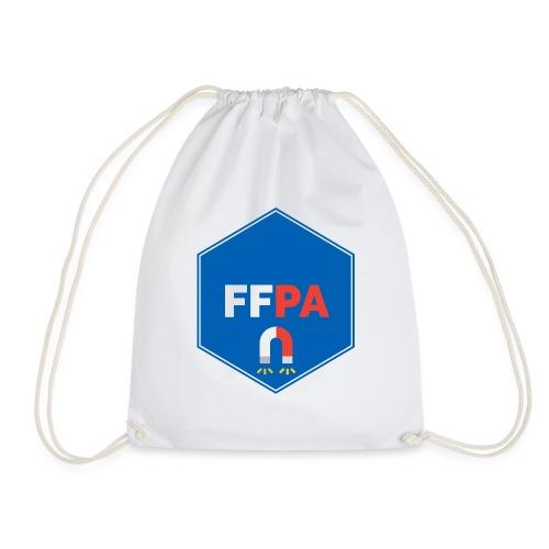 Logo de la fédé française de pêche à l'aimant - Sac de sport léger