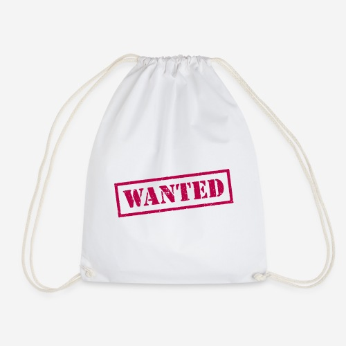 wanted - Turnbeutel