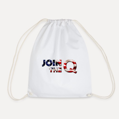 Qanon Accessories - Drawstring Bag