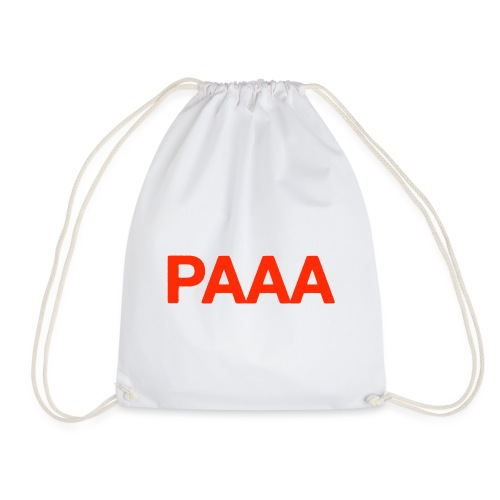 PAAA Logo - Sacca sportiva