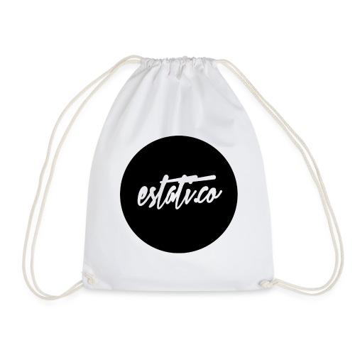 Taza blanca / punto - Mochila saco