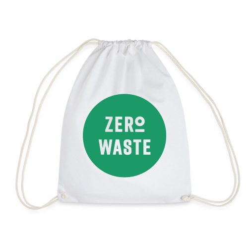 ZERO WASTE - Green - Drawstring Bag