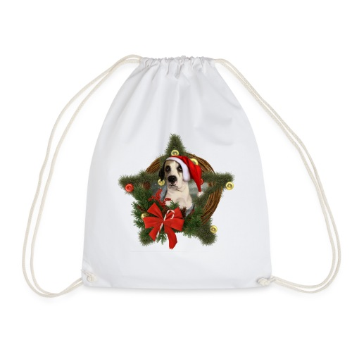 Christmas Dog - Sacca sportiva