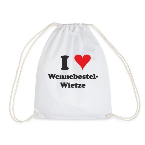 I Love Wennebostel-Wietze - Turnbeutel