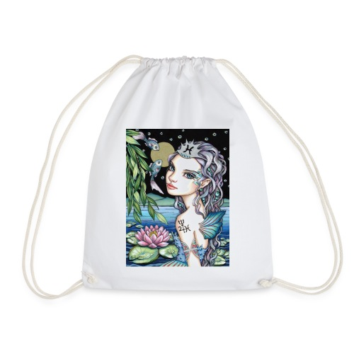 Pisces girl Fische Mädchen - Drawstring Bag