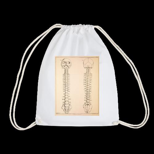 Anatomy book page - Drawstring Bag