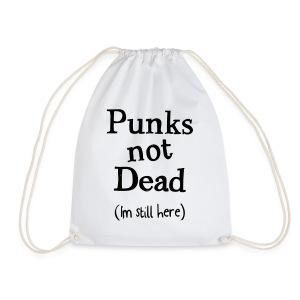 punks not dead - Gymnastikpåse