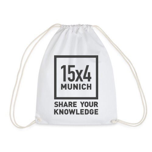 Share your knowledge - Turnbeutel