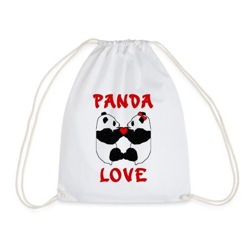 Panda Love - Drawstring Bag