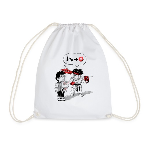 Hadoken? - Drawstring Bag