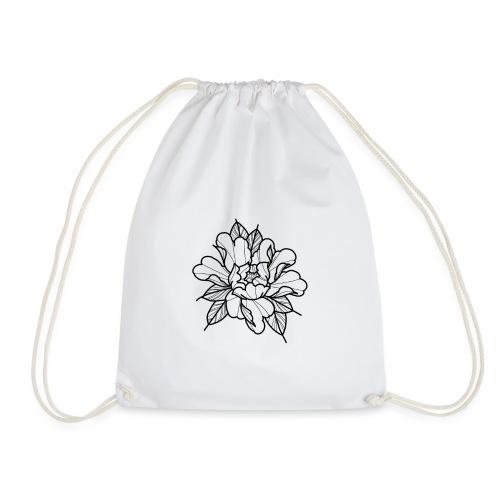 Peonie flower - Drawstring Bag