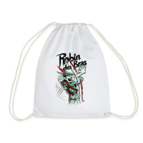 Robin des Bras - Drawstring Bag